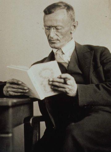 Герман Гессе (нем. Hermann Hesse), 1927 год