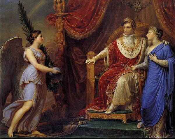 Аллегорическое изображение Наполеона