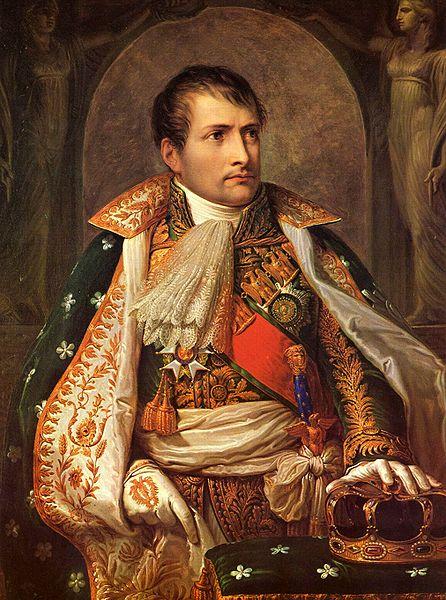 Наполеон был коронован королем Италии 26 мая 1805 в Милане. Картина Андреа Аппиани