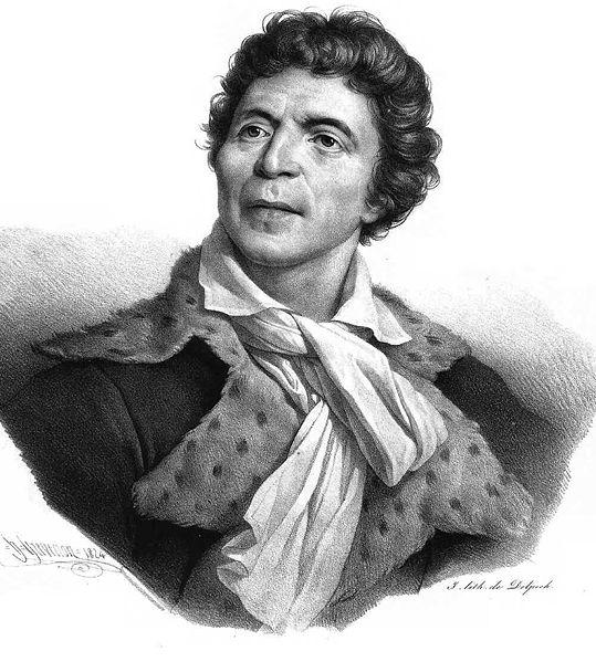 Жозеф Бозе. Портрет Жан-Поля Марата. Музей Карнавале. 1793