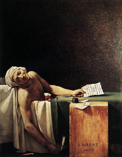 Смерть Марата (Жак Луи Давид, 1793)