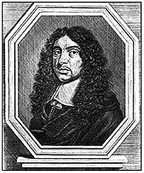 Эндрю Марвелл, поэт, помощник Мильтона в Парламенте. Гравюра XVII в.