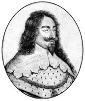 Карл I. Гравюра XVII в.