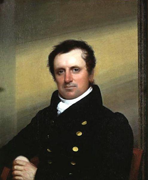 Портрет Д. Ф. Купера (худ. — Джон Уэсли Джарвис, 1822)
