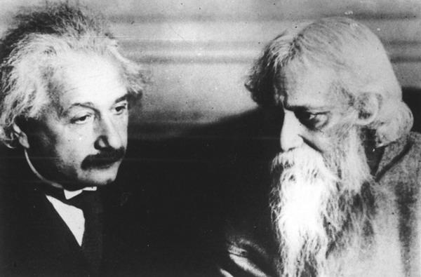 Тагор Р. и Эйнштейн А.
