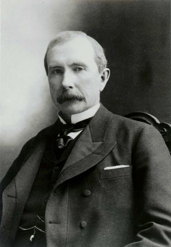 Джон Рокфеллер в 1885 году