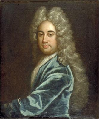 Портрет кисти Годфри Кнеллера, предположительно изображающий Джозефа Аддисона (1672-1719).