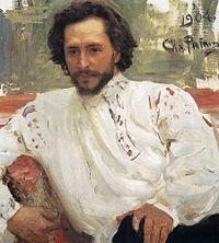 Л. Андреев. Портрет работы И. Репина (1904)