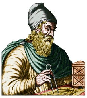Средневековый портрет Архимеда