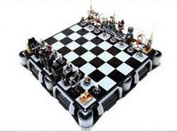 Lego-шахматы с героями Звездных Войн