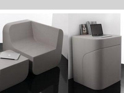 Кресло трансформер «Dual Cut»