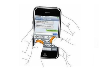 Кольцо – стилус («Finger stylus»)