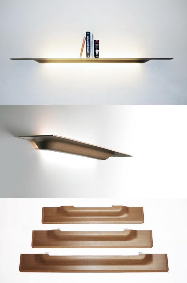 Полка - светильник «Plyght»