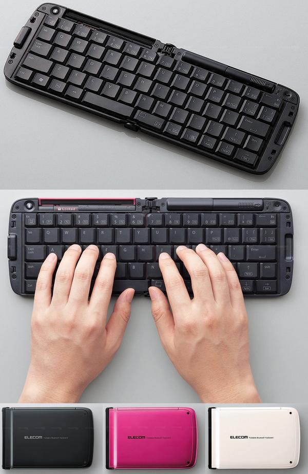 Мобильные клавиатуры от «Elecom»