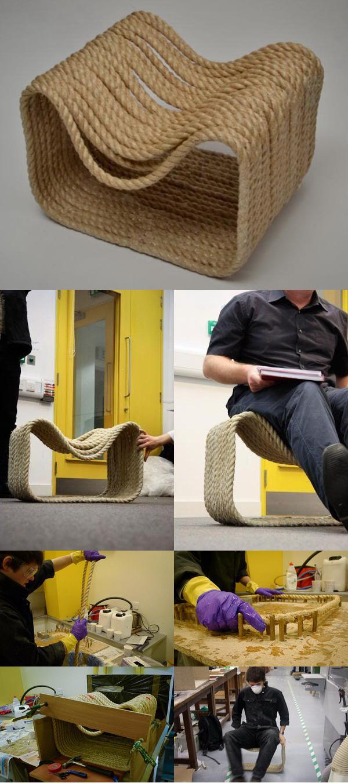 Стул из веревки «Ropey Chair»