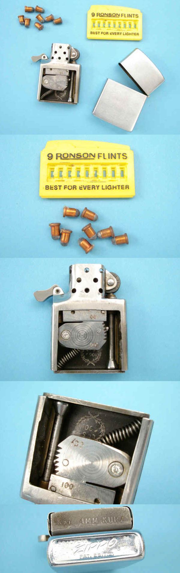 Пистолет, замаскированный под зажигалку «Zippo».