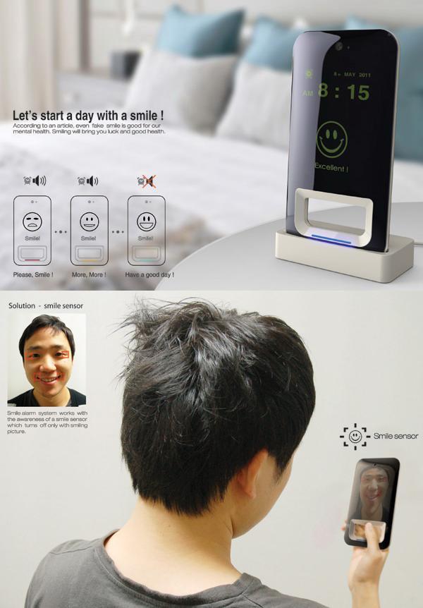 Будильник с распознаванием улыбки «Smile Alarm Clock»