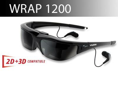 Видео - очки «Wrap 1200»