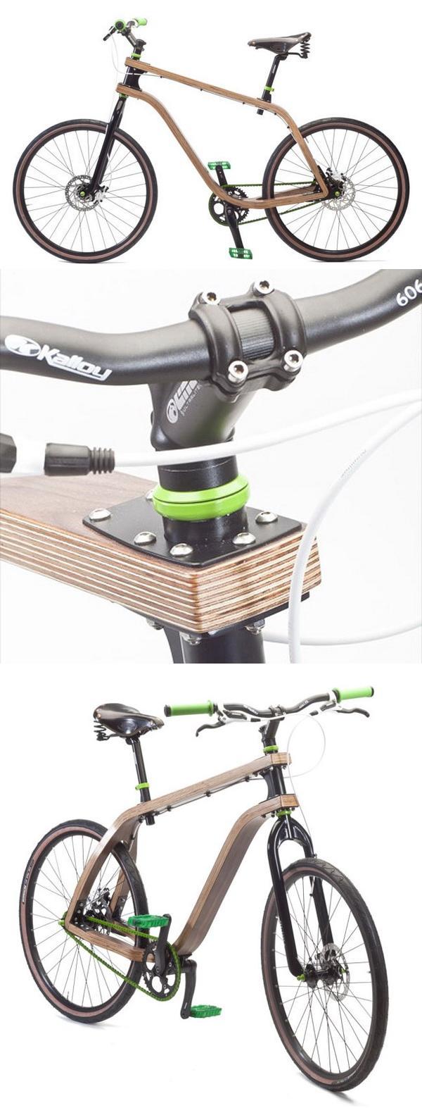 Велосипед из фанеры «Bonobo»