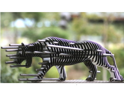 ����������� ���������� �Sliced Metal Sculptures�