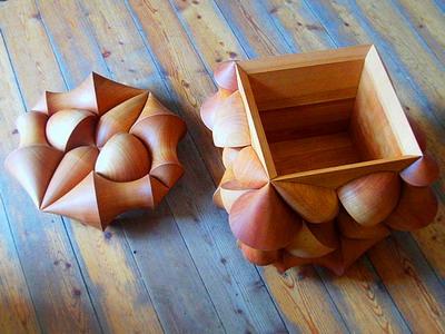 Фантастический куб «Cube Illusion» от Laszlo Tompa