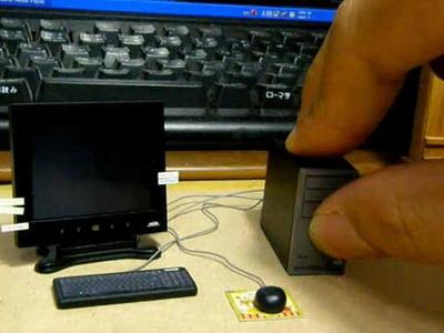 Самый маленький компьютер в мире!