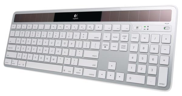 Беспроводная клавиатура «K750» с солнечными батареями от «Logitech»