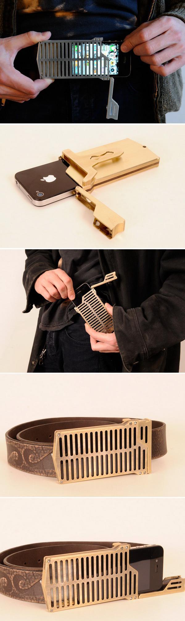Чехол EXO7 Belt Buckle для iPhone 4
