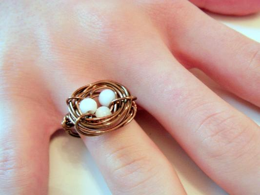 ������ ������ ������ �Bird�s Nest Ring�