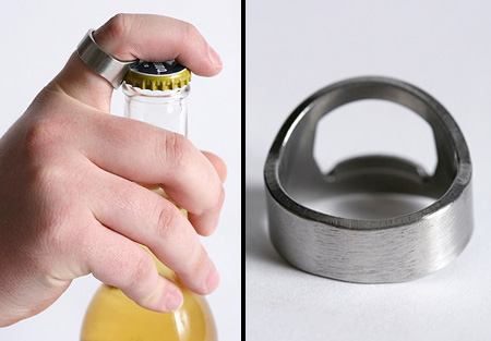 ������ ��� ���������� ������� �Bottle Opener Ring�