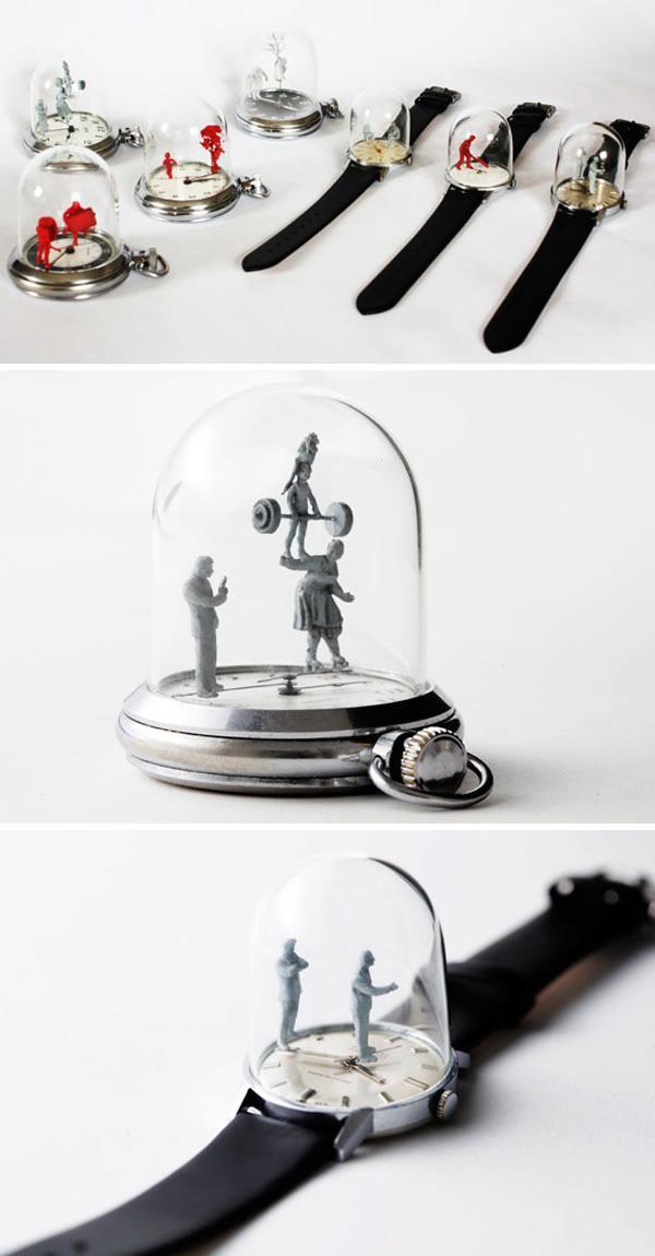 Удивительные Скульптуры - Часы от Доминик Уилкокс (видео)