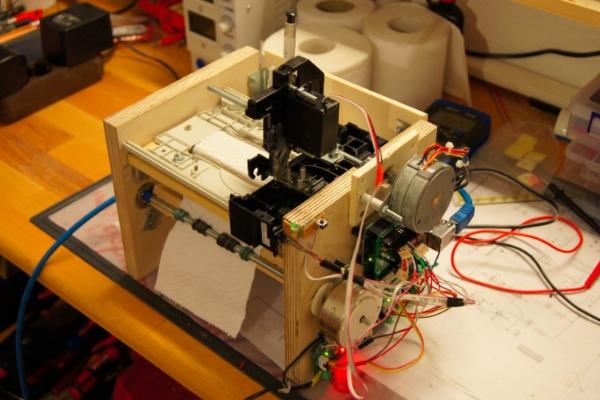 Принтер для печати на туалетной бумаге «Toilet Paper Printer» (видео)