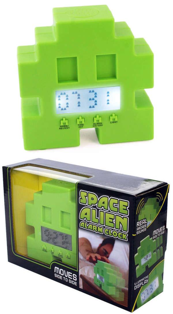 Будильник «Space Invader Alarm Clock Shuffles»