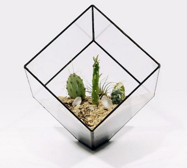 Домики «Sculptural Planters» для цветов