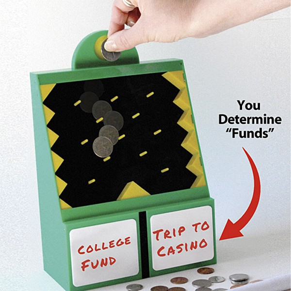 Устройство «50/50 Savings Bank» для людей, которые не знают, на что потратить деньги
