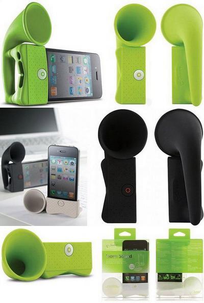 «Усилитель» звука «iPhone Horn Stand»