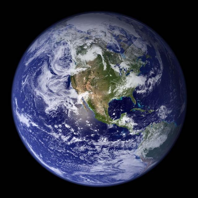 Соотношение размеров планеты Земля и других космических объектов (видео)