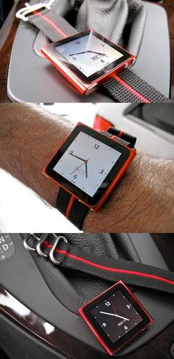 Наручные часы из iPod Nano