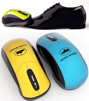 Щетка - «мышь» для обуви