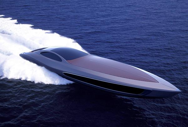 Супер-яхта с сюрпризом
