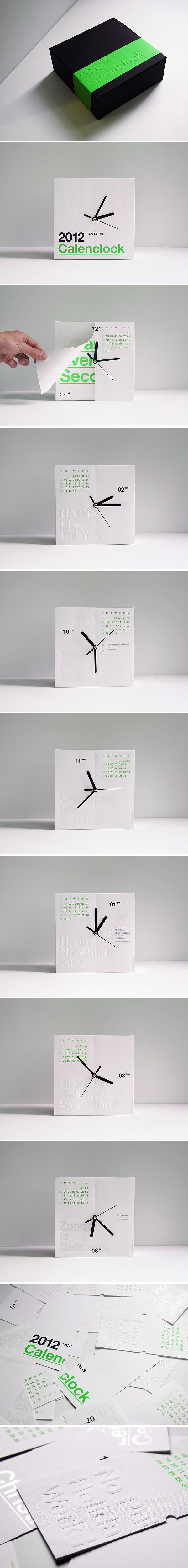 Часы - Календарь («CalenClock»)