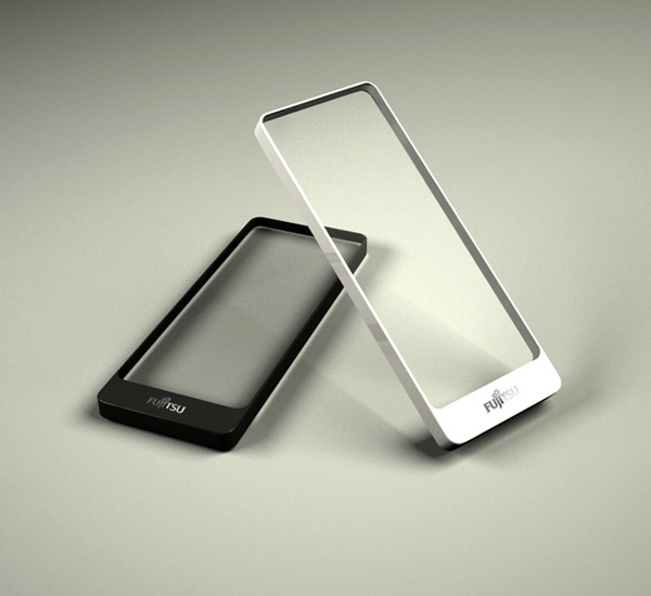 Концепт смартфона «Brick» с прозрачным экраном