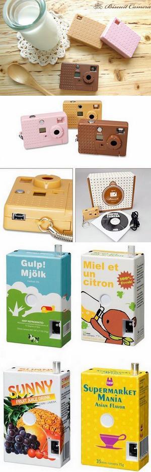 Серия миниатюрных цифровых фотоаппаратов