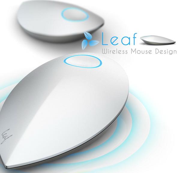 Концепция компьютерной мышки «Leaf»