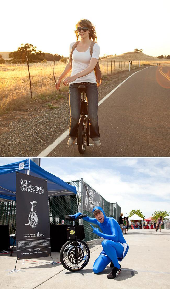 Одноколесный велосипед «SBU V2.0» от «Focus Designs» уже в продаже (видео)