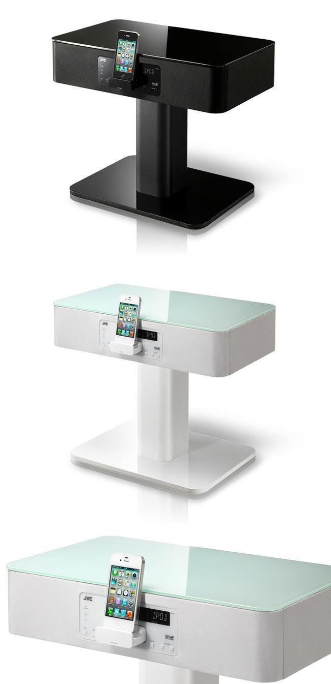 Фирма JVC выпустила музыкальную тумбочку «N-BX3» с док – станцией для iPhone и IPod