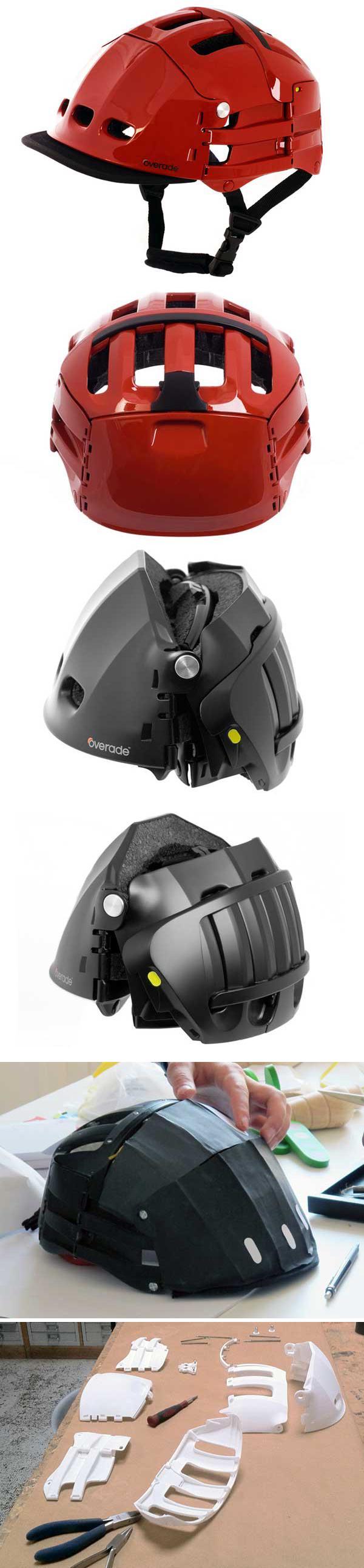 Складной велосипедный шлем (Overade Cycling Helmet)