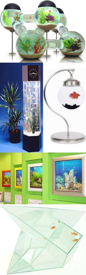 Необычные аквариумы. Часть I