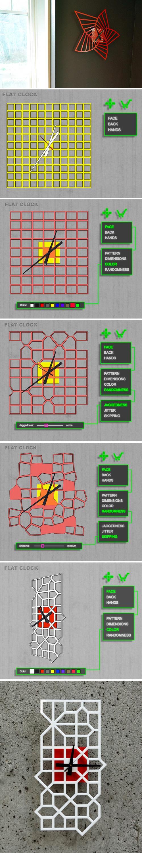 Плоские часы (Flat Clock)