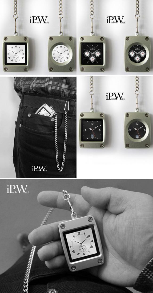 Карманные часы «iPocketWatch»
